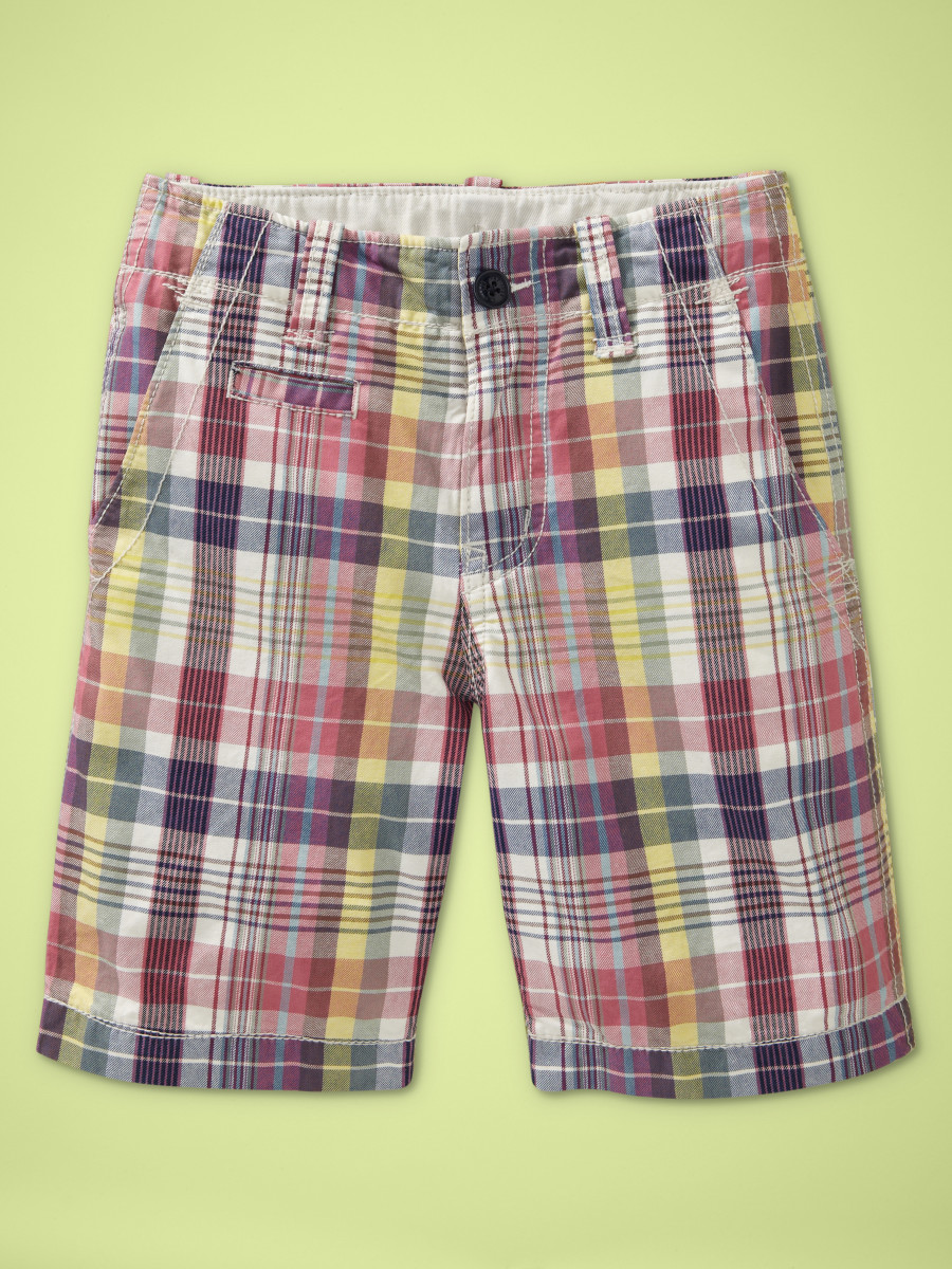 boys summer plaid shorts $26.95 copy