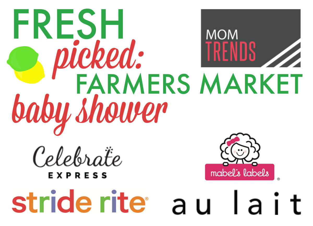 Fresh Picked Farmers Market Baby Shower