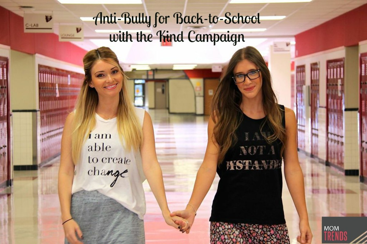 Anti-Bully for Back-to-School with the Kind Campaign