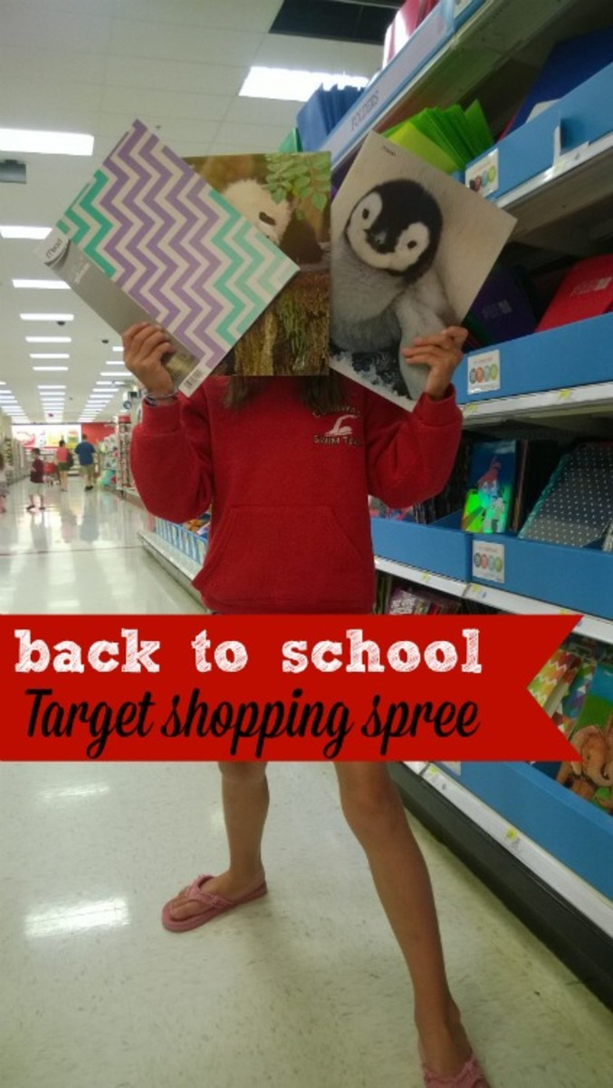 target shopping spree