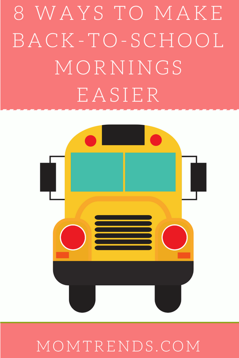 Ways to Make Back-To-School Mornings Easier