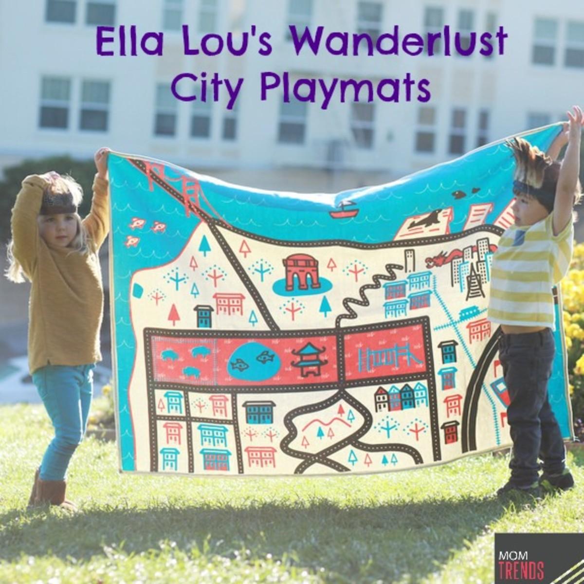 Ella Lou's Wanderlust City Playmats