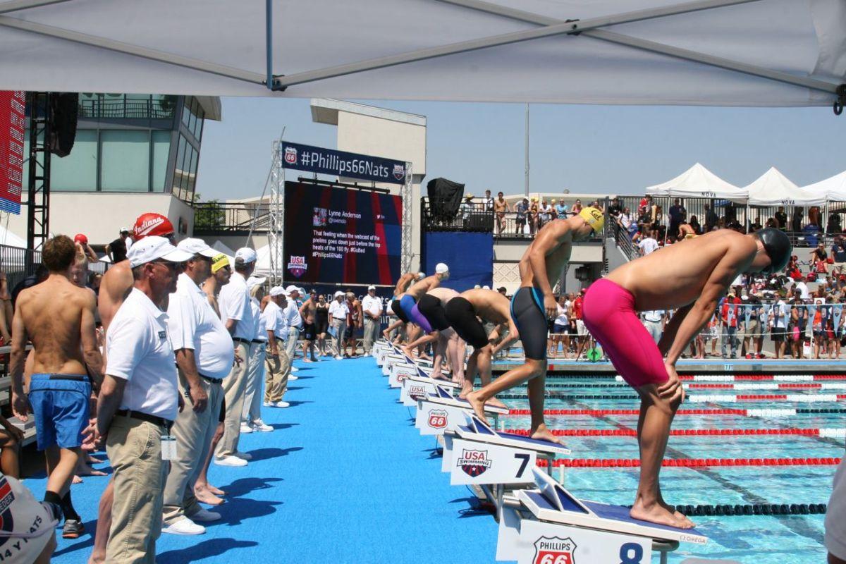 USA Swimming Event with Dara Torres #MomtrendsSwim - MomTrends