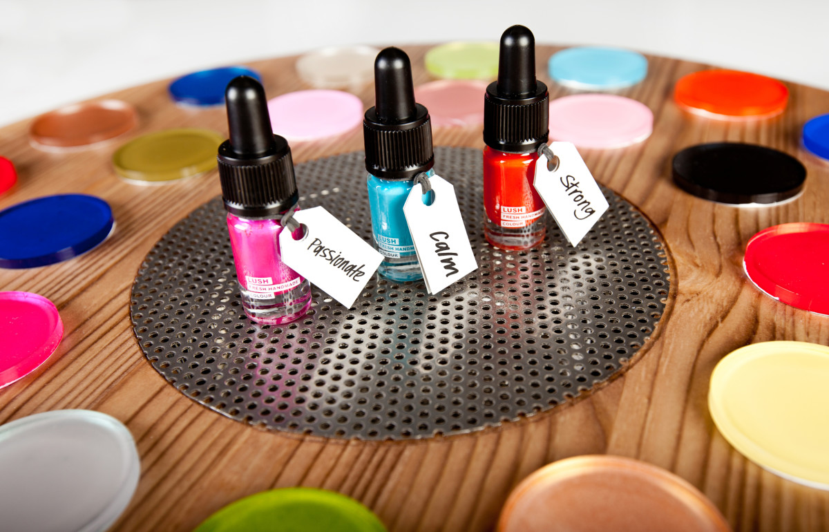 Colour wheel Products on top 6
