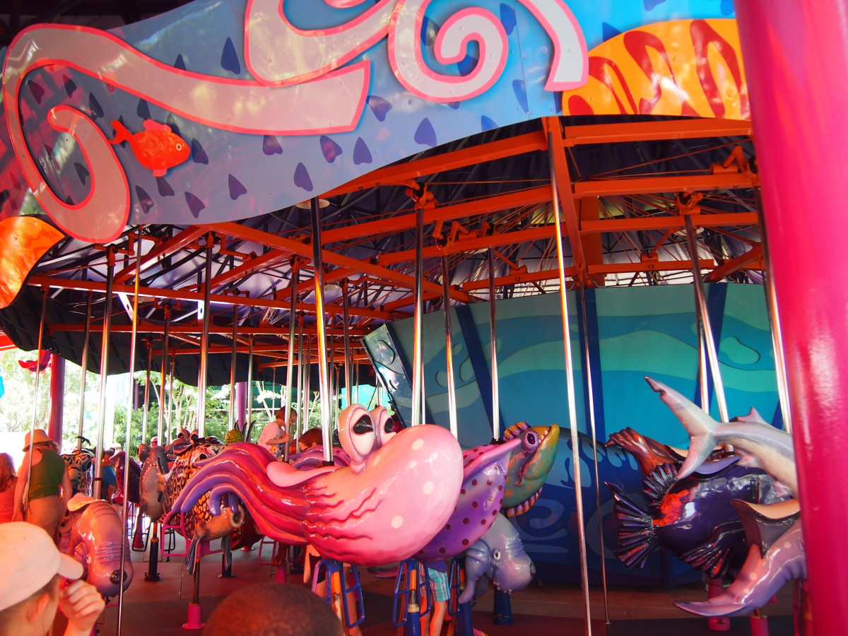 fish carousel