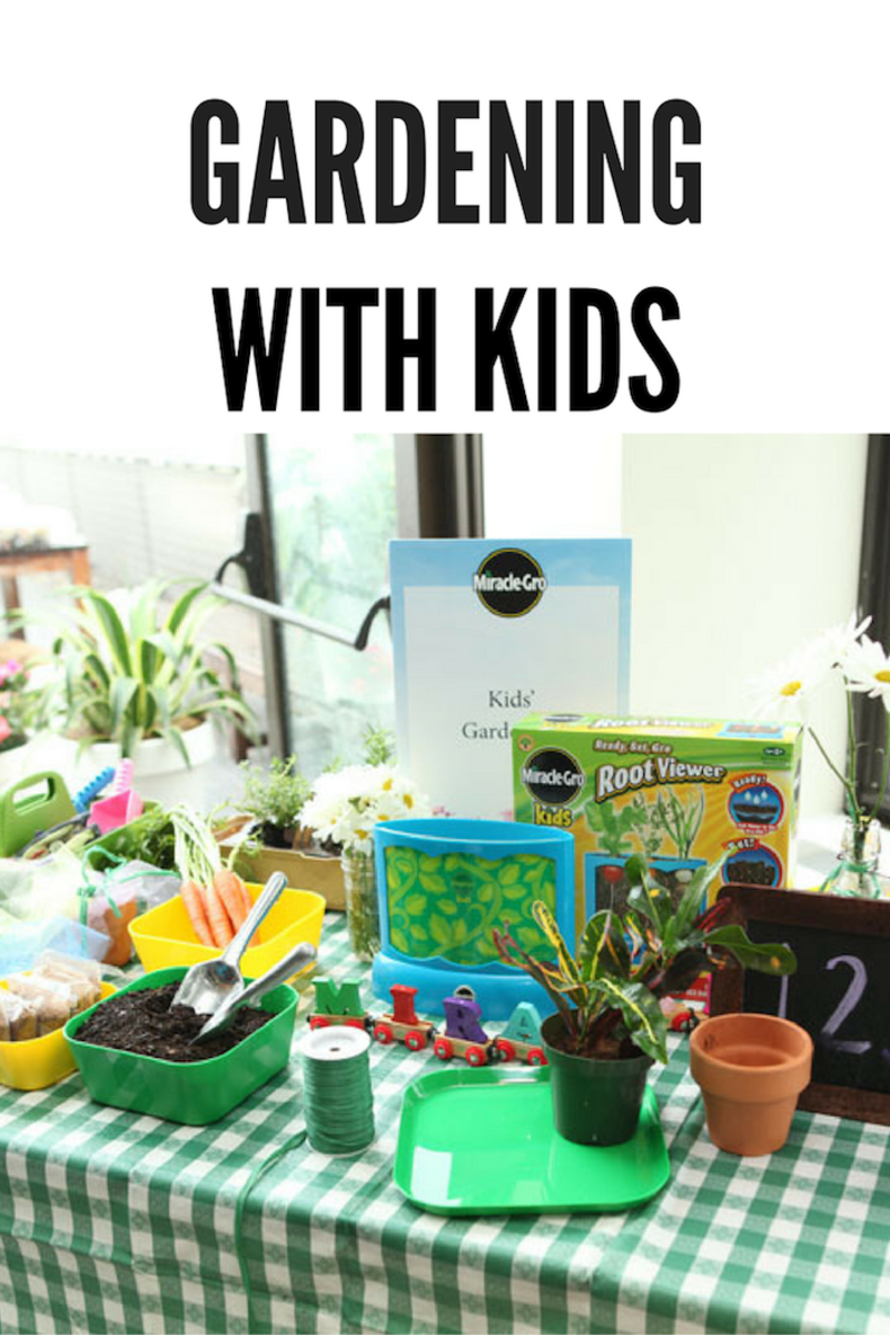 Tips for gardening with the kids momtrendsmomtrends for Gardening tips for kids