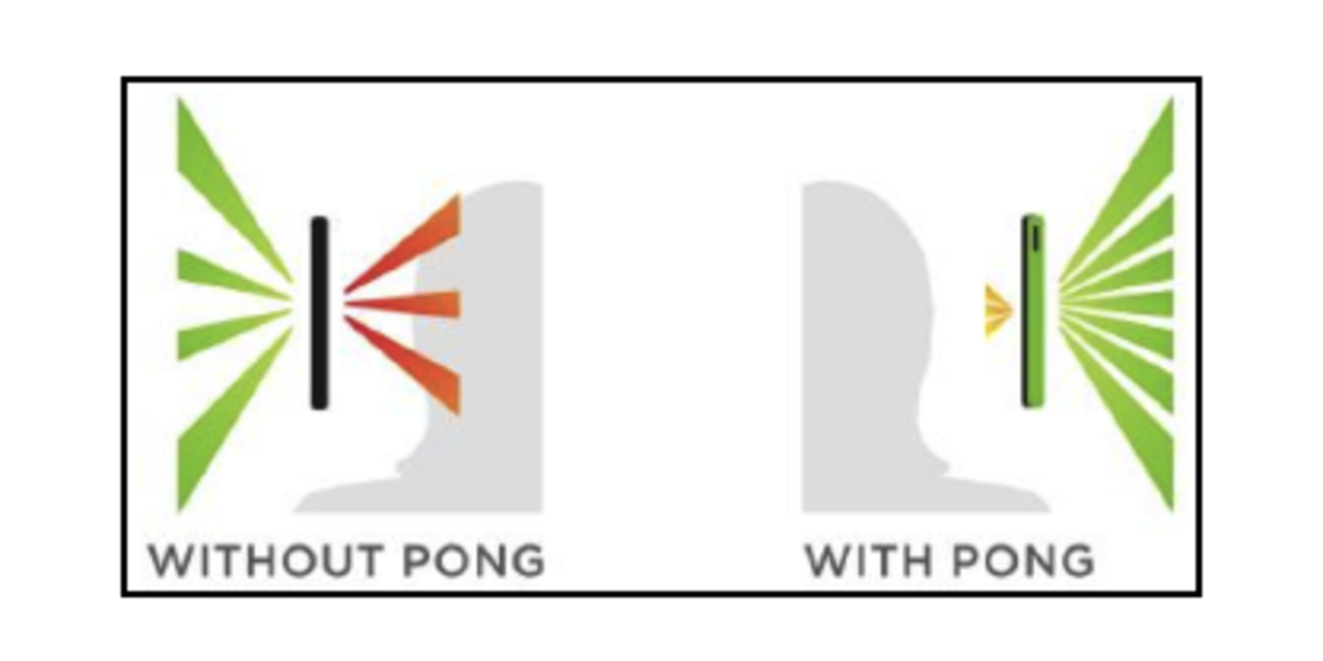 pong cases, smartphone case, EMF, RAdip frequency reduction