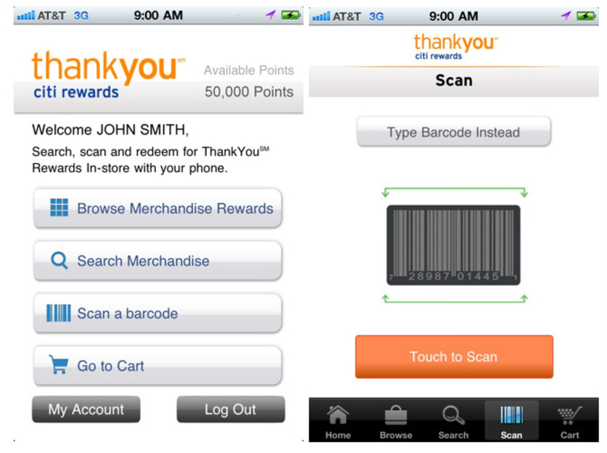 Citi-ThankYou-Rewards-App