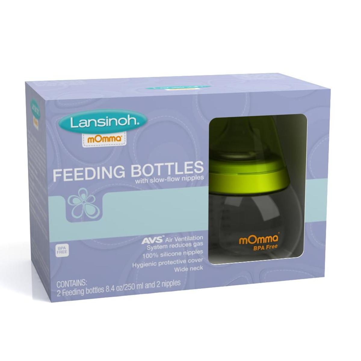 feeding bottle 2x 8
