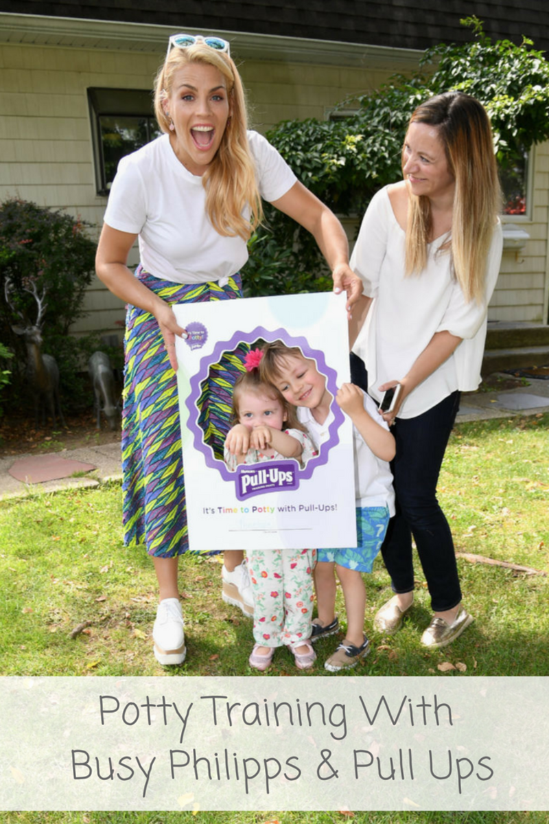 Potty Training Tips From Busy Philipps & Pull Ups