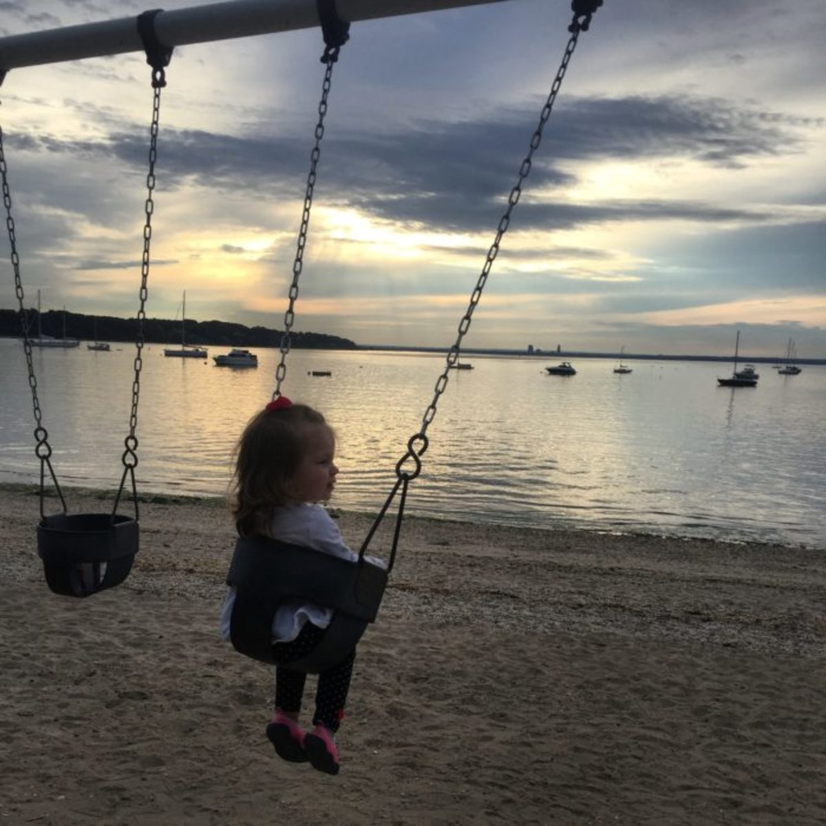 beachfront swing