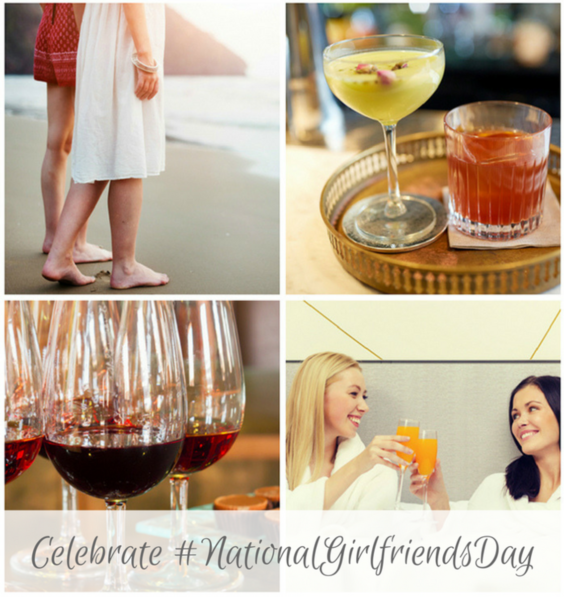 How to Celebrate #NationalGirlfriendsDay