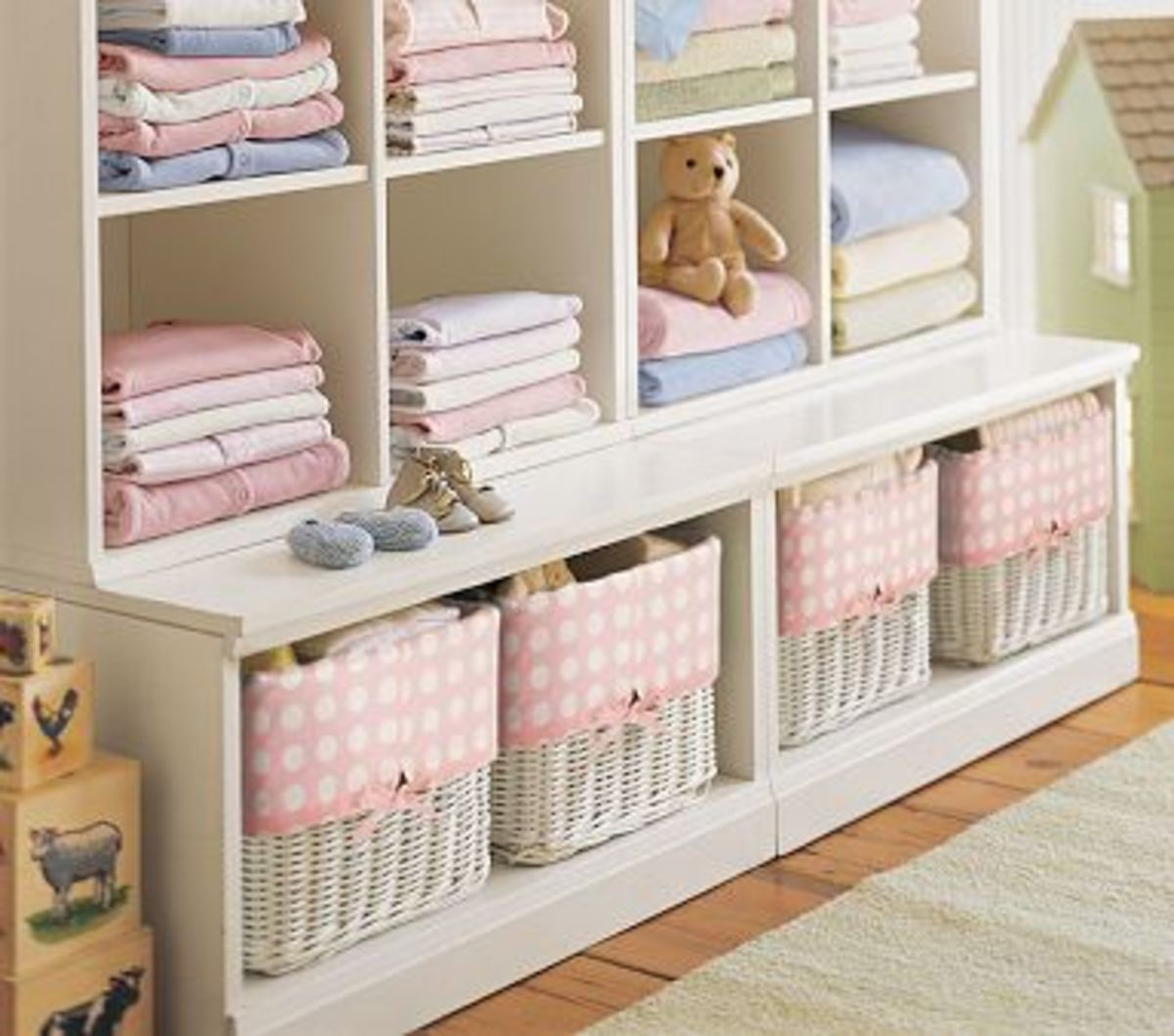 Cameron 2 Cubby & 2 Base Set - (Image Credit: Pottery Barn Kids)