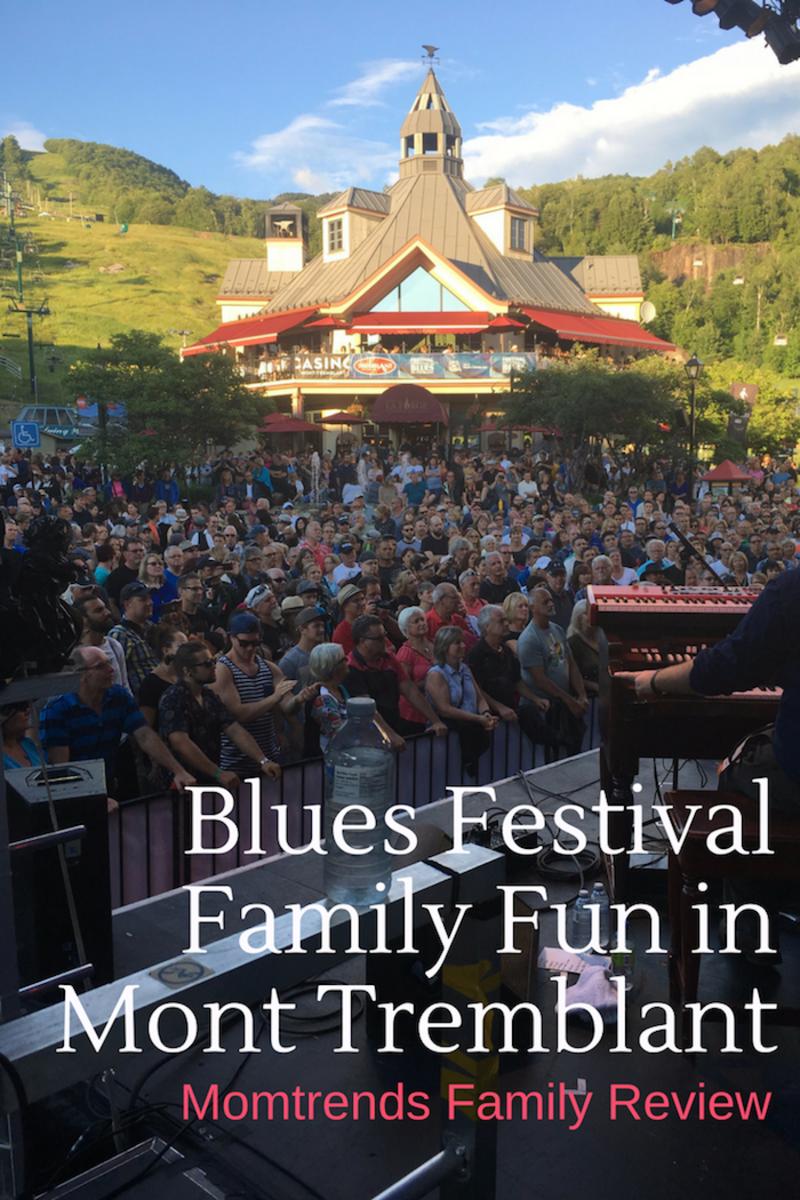 Blues Festival Family Fun in Tremblant