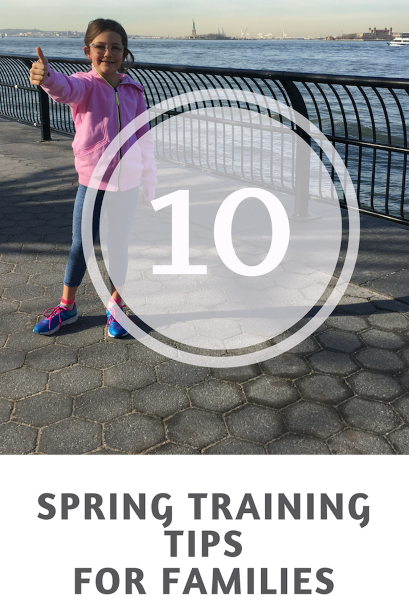 Spring Training for Families--ideas to get your family moving including ways to improve gut health