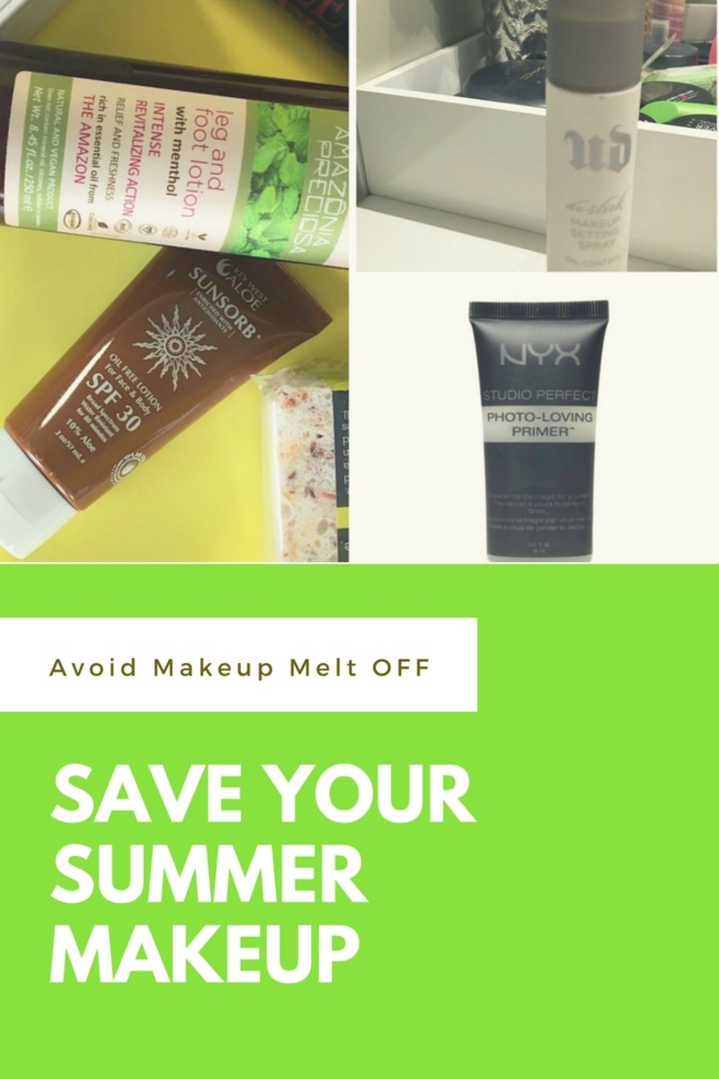 Save your Summer Makeup!