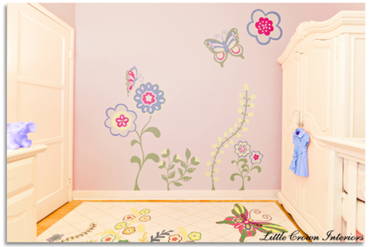 girl's-baby-room