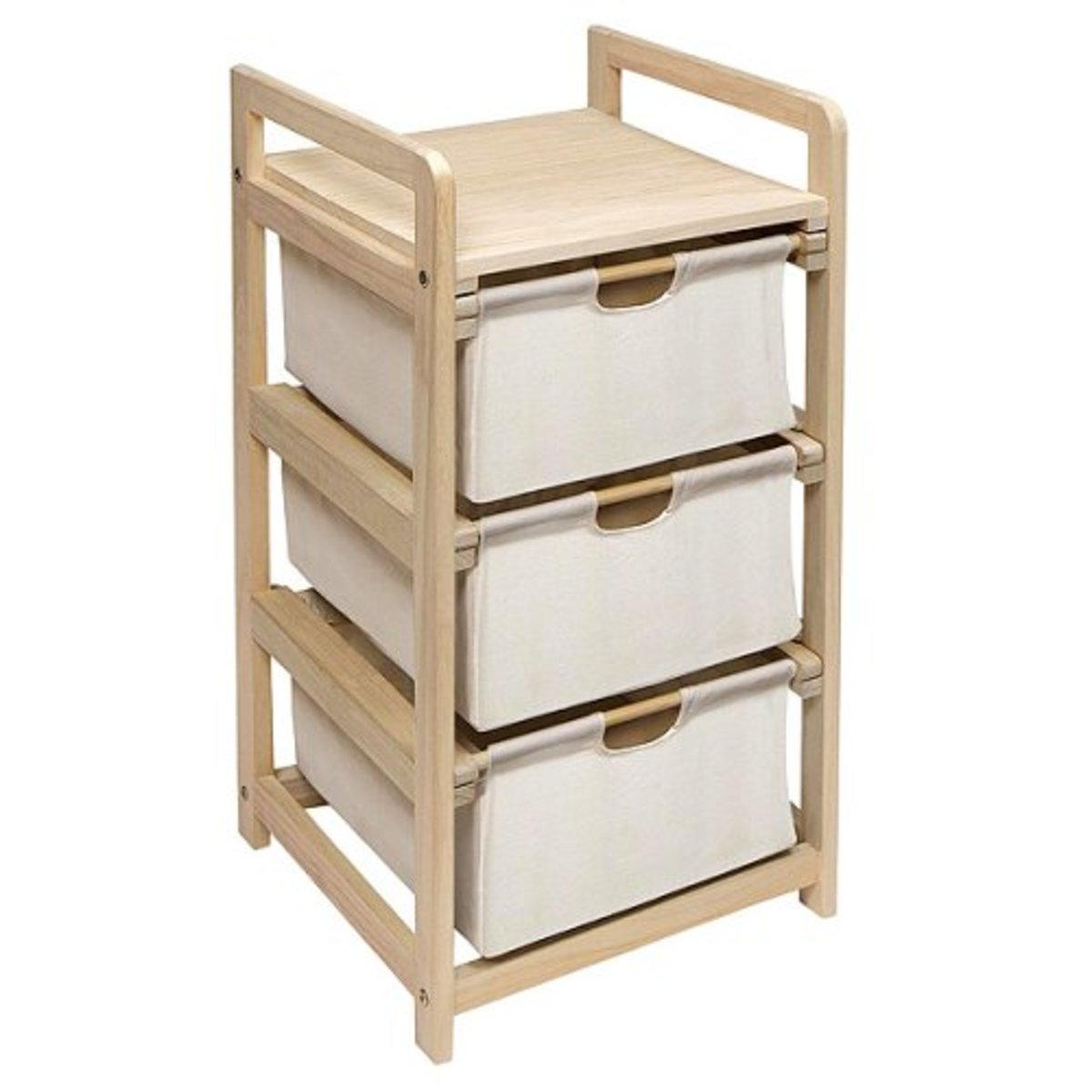 Hamper 3-Drawer Storage Unit- Image Credit: Amazon.com