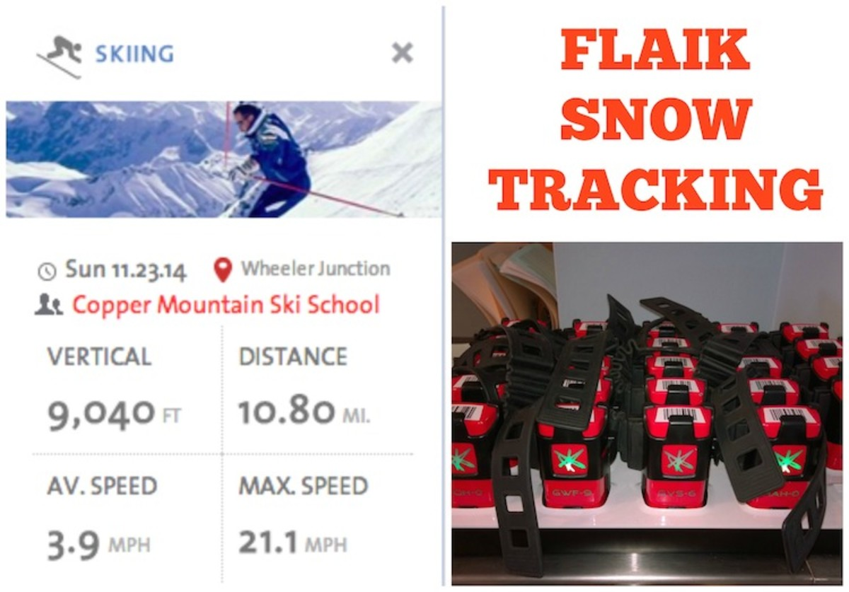 flaik snow tracking