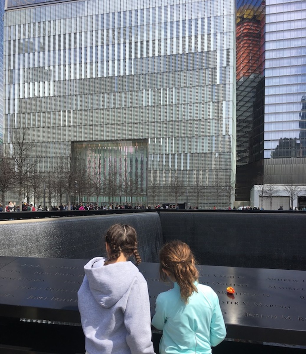 9:11 memorial with kids