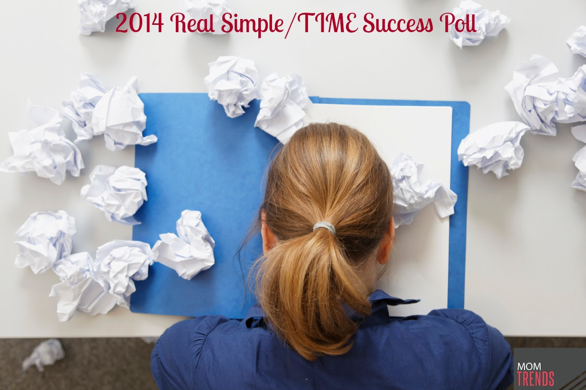 2014 Real Simple/TIME Success Poll