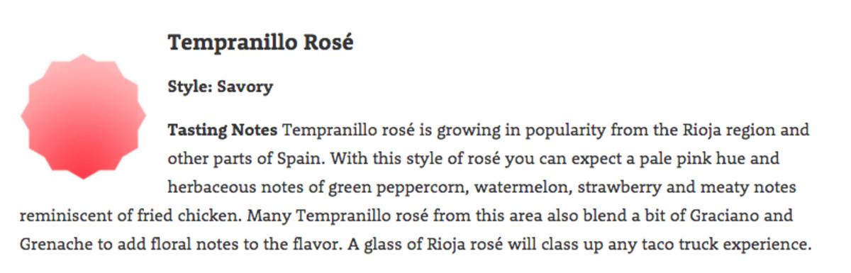 Tempranio Rose