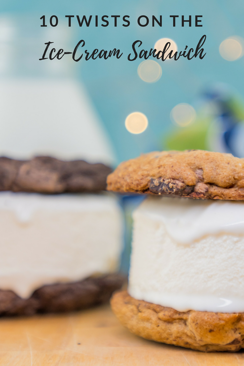 10 Twists on the Ice-Cream Sandwich