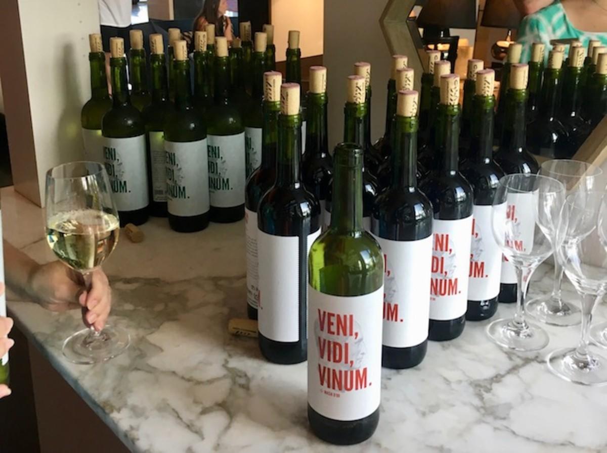 wine social at Kimpton Seafire
