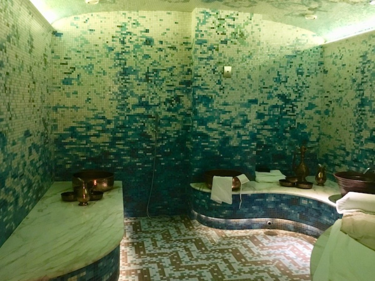 Turkish Bath Seafire Kimpton