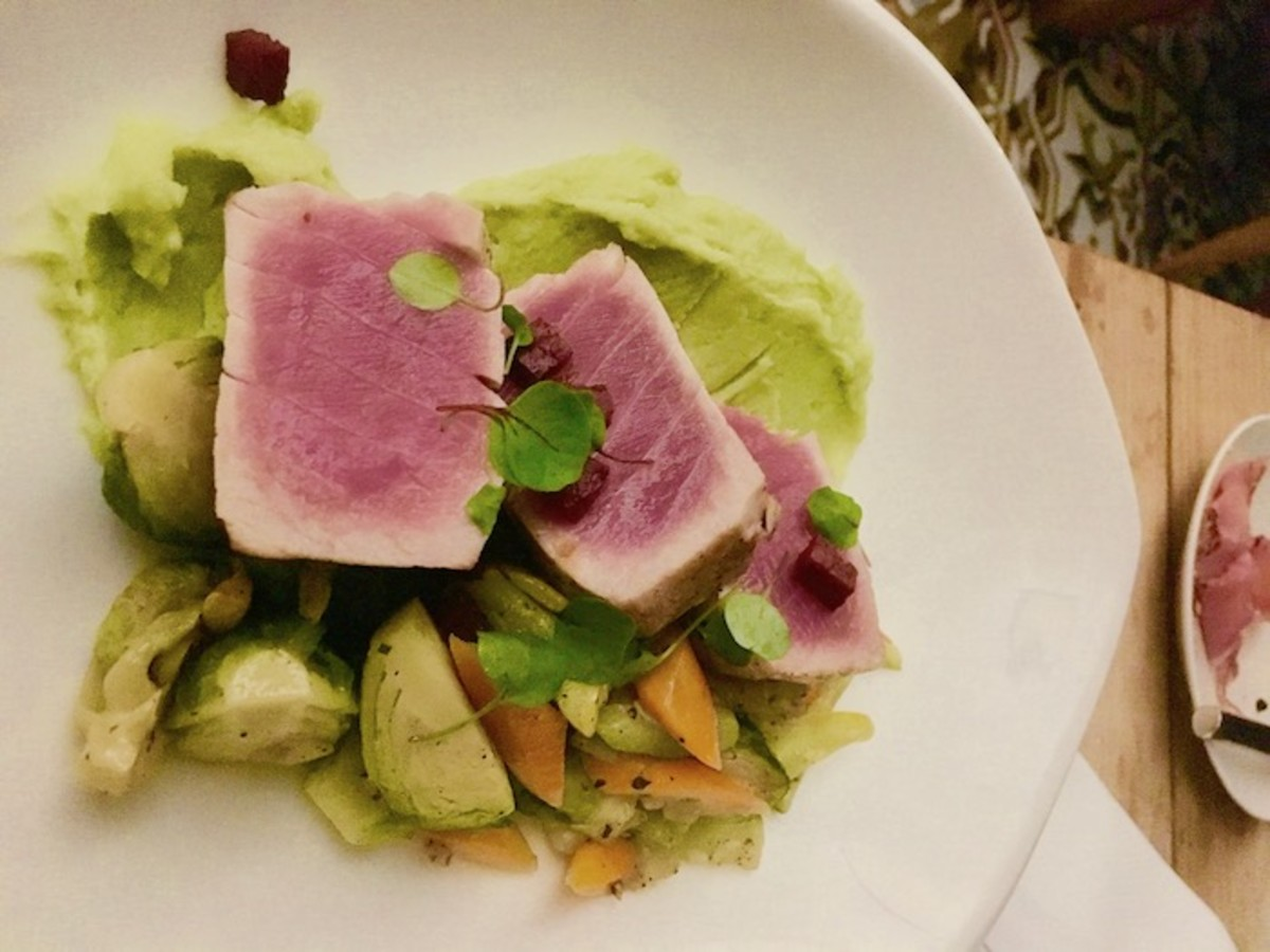 Tuna at Seafire resort