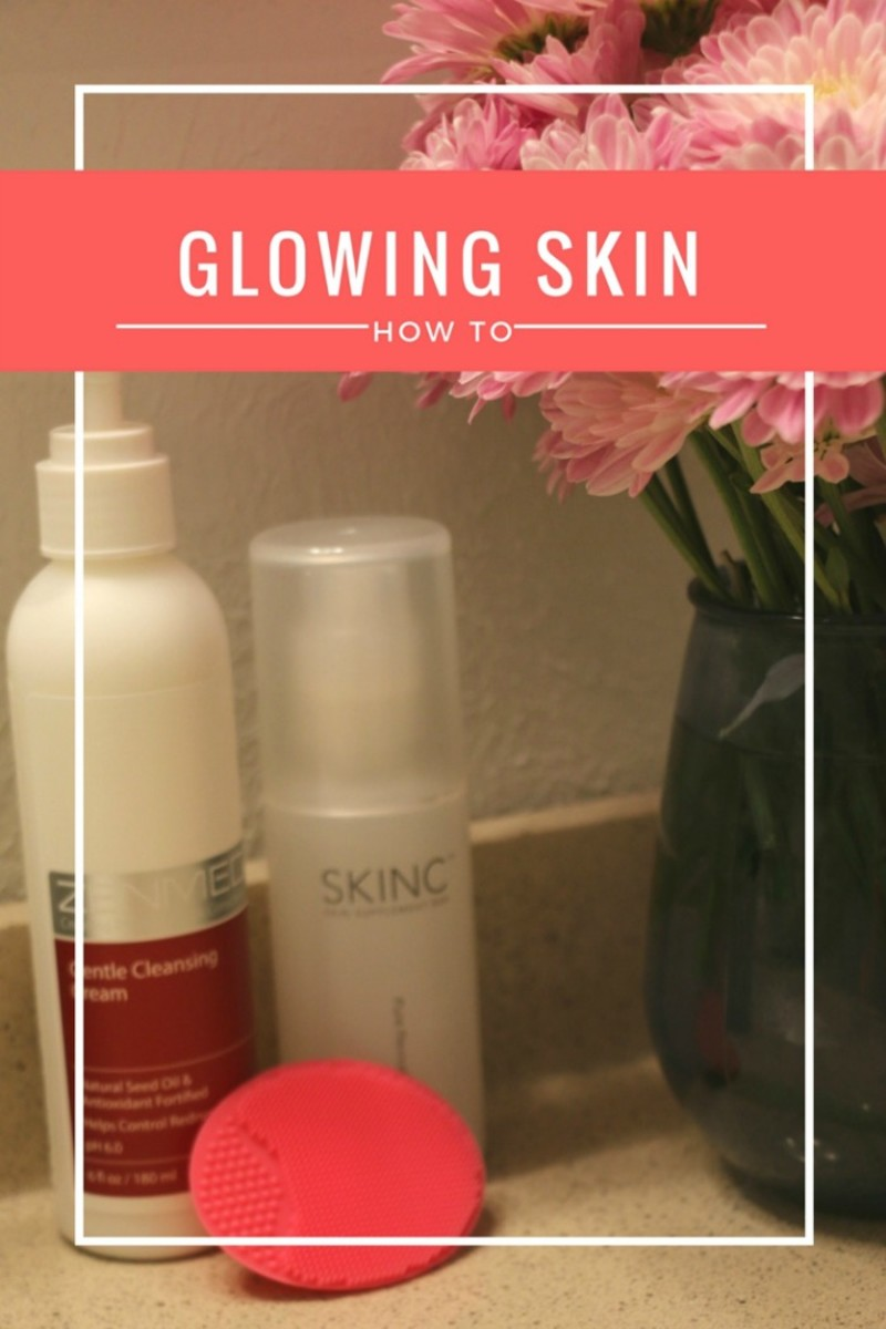 glowing skin how to