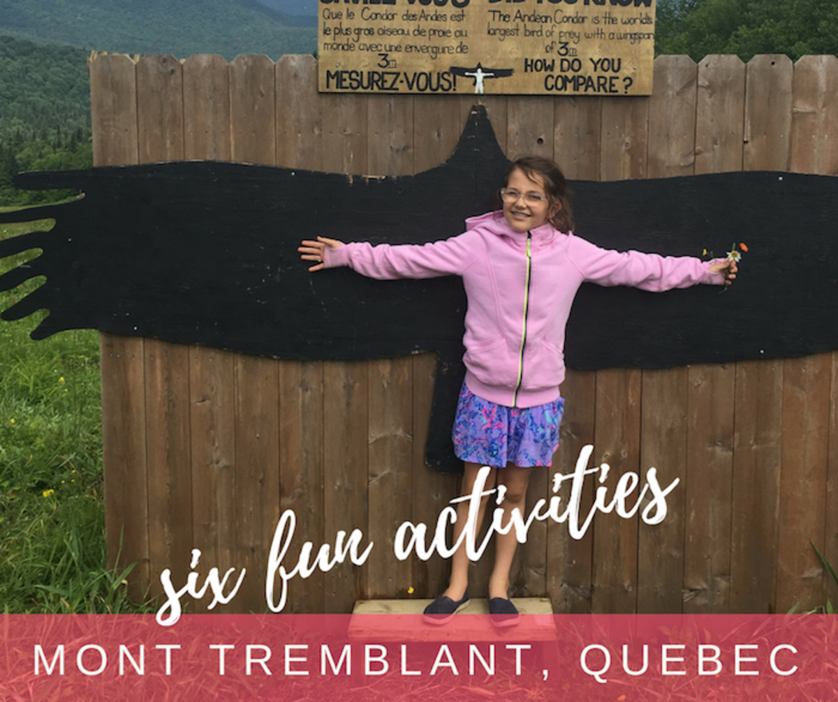 Six Summer Fun for Families at Mont Tremblant