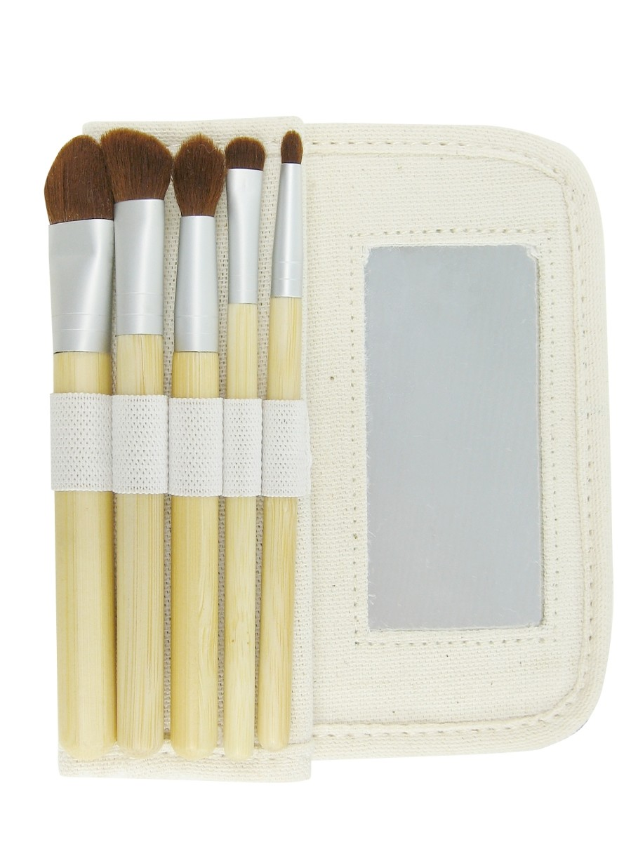 Cute and Gentle 6-Piece Brush Set by EcoTools - (Image Credit: EcoTools)