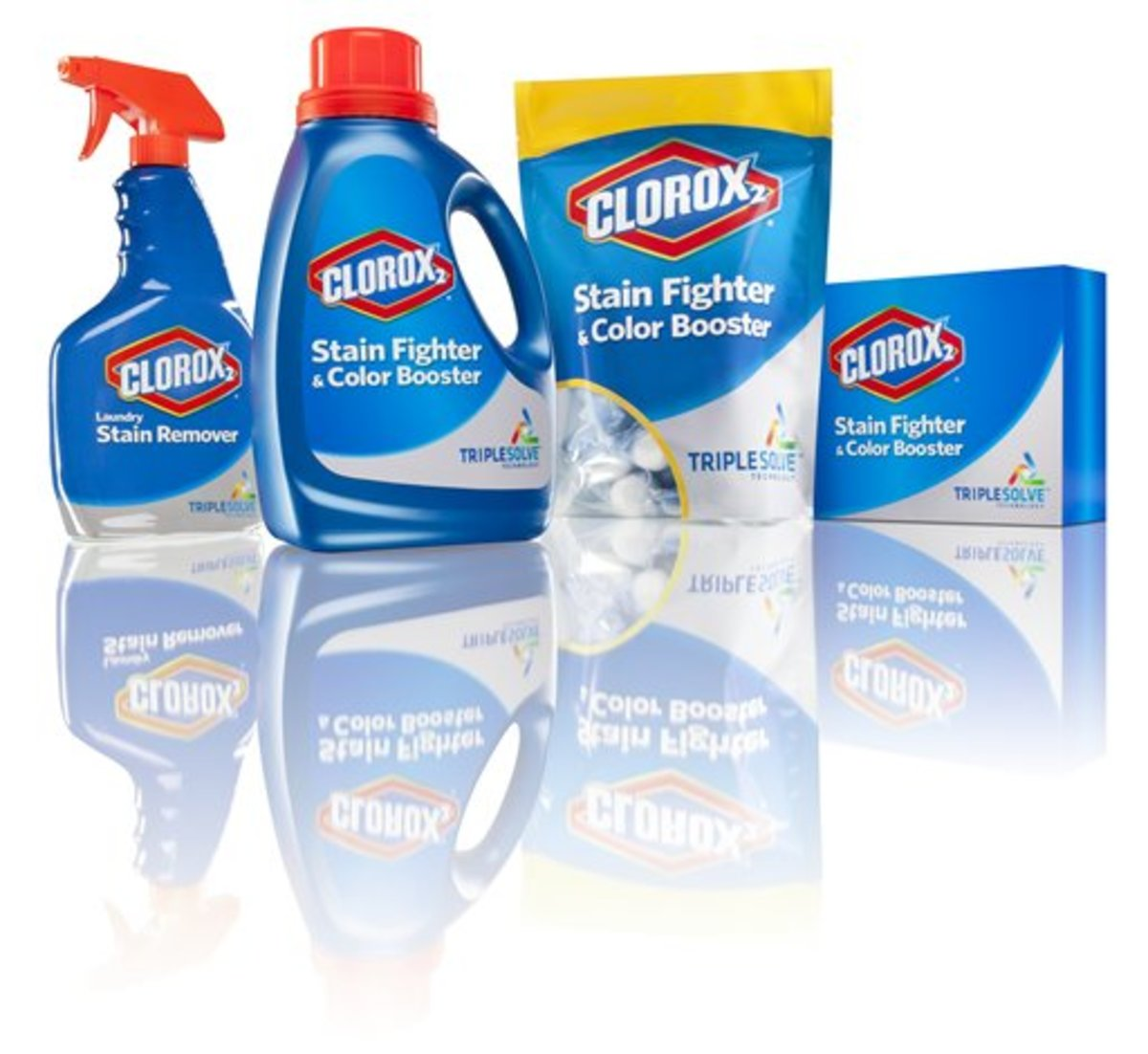 Clorox stain fighter multiple bottles