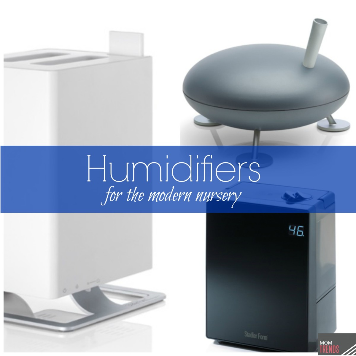 Modern Humidifiers from Stadler Form