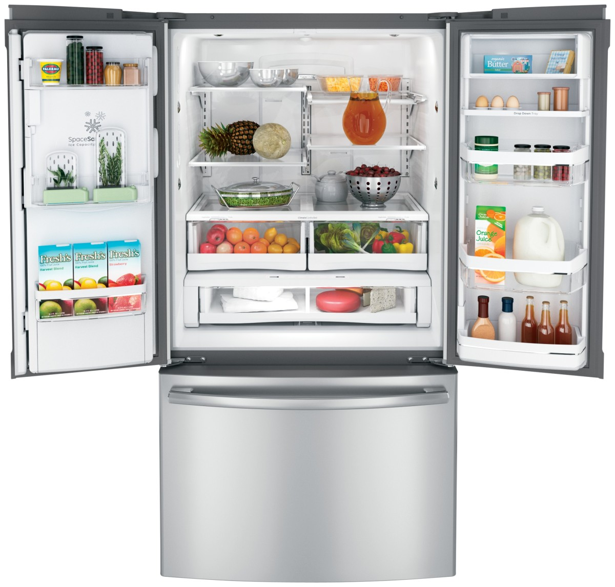 French Door Refrigerators: GE French Door Refrigerators