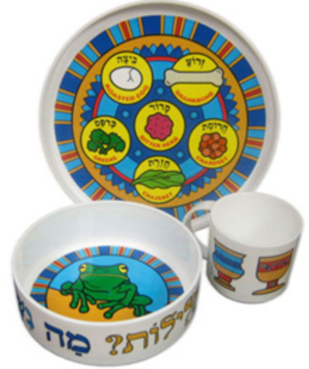 my little dishes passover set