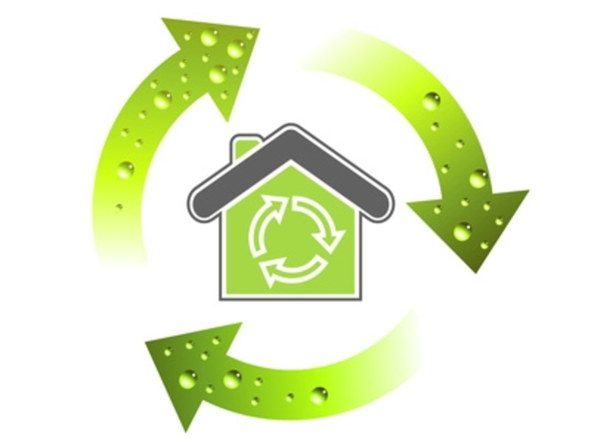 Going green starts at home. (Image Credit: ehow.com)