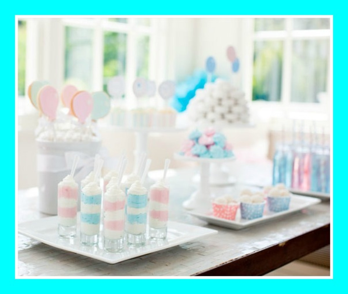 Pottery Barn Baby Shower Part - 18: Shower. One Of The Most Exciting Moments For Parents-to-be Is When They Get  To Discover The Gender Of Their Baby. Pottery Barn Kids And Party Designer  Kim ...