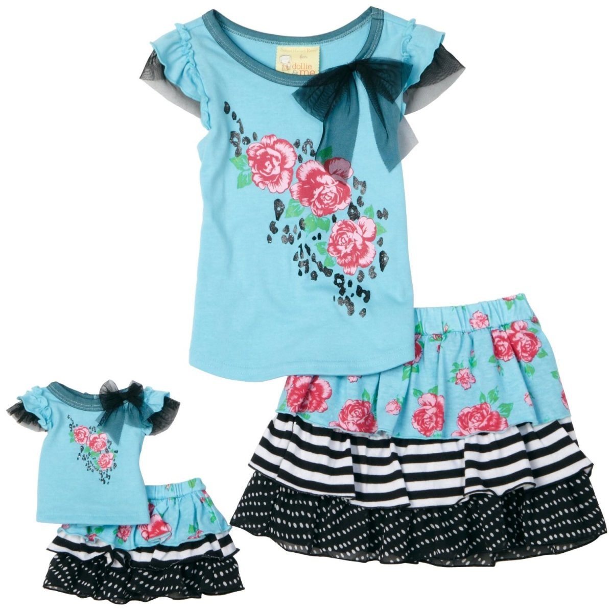 Skirt Set Dollie and Me
