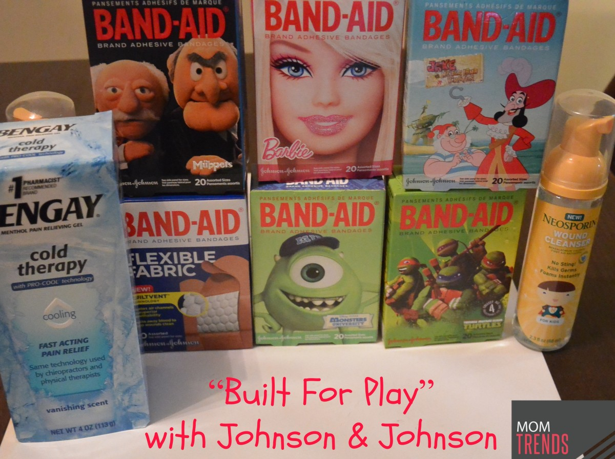 """Built For Play"" with Johnson & Johnson"