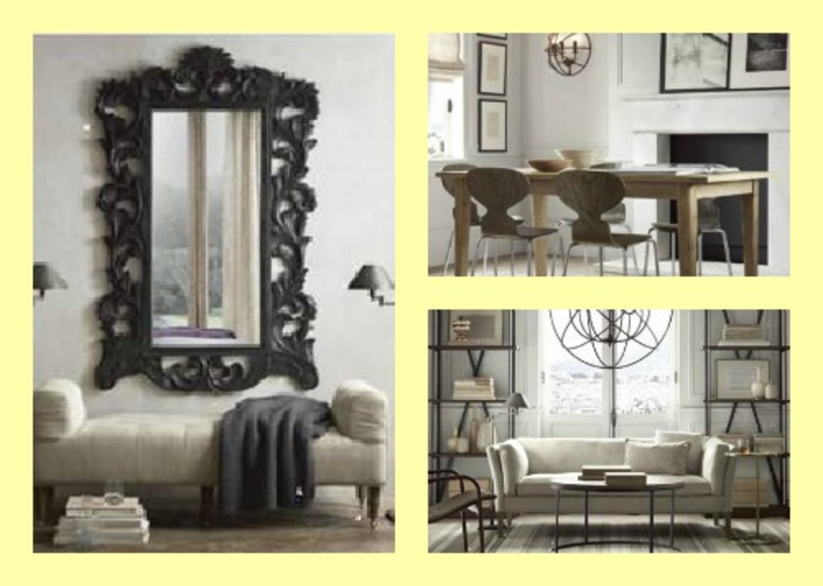 Expanding big style small spaces collection from restoration hardware momtrendsmomtrends - Small spaces restoration hardware set ...