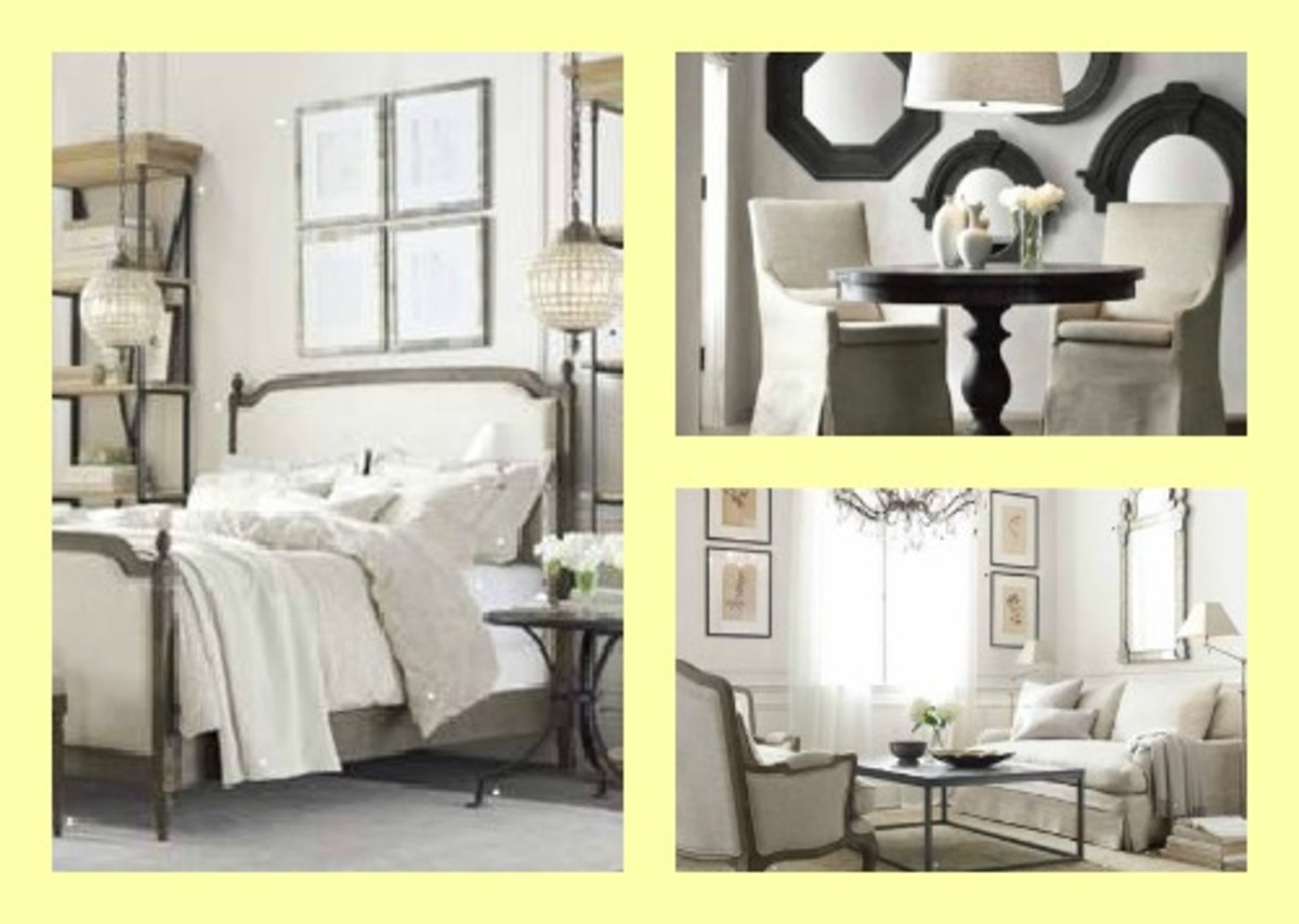 Expanding big style small spaces collection from restoration hardware momtrendsmomtrends - George small spaces collection ...