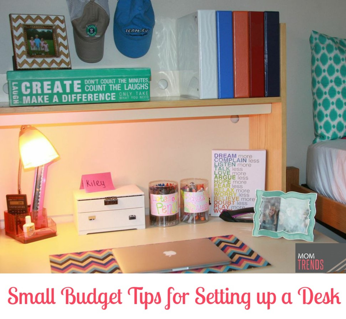 Small Budget Tips for a Chic Desk