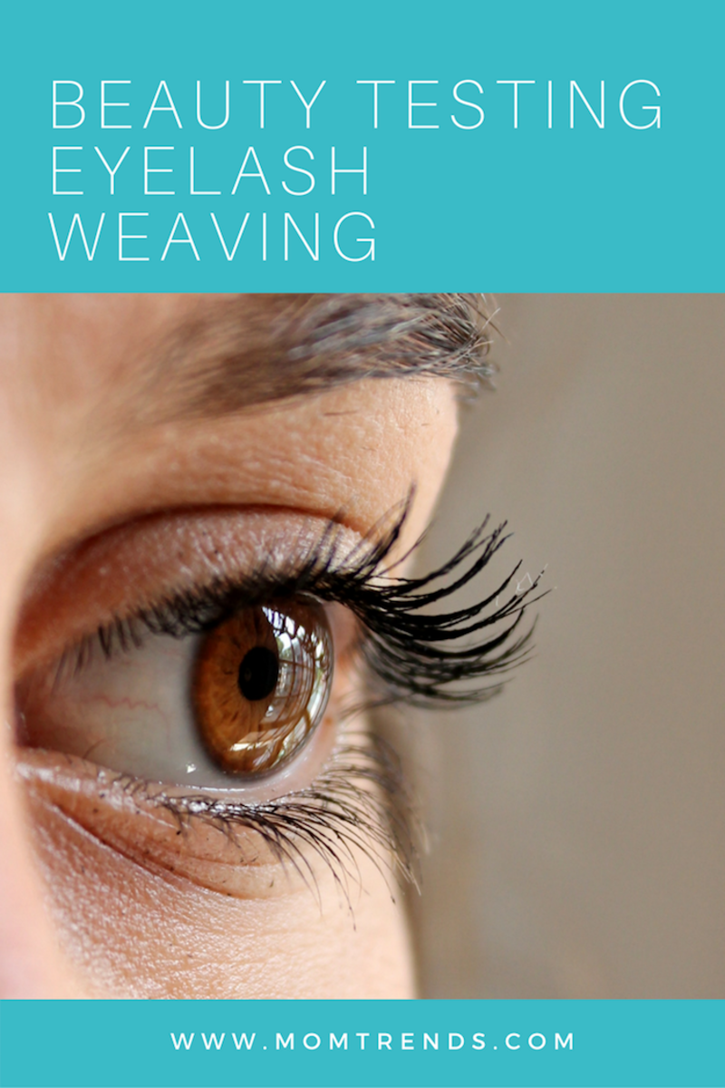 Beauty Testing Eyelash Weaving