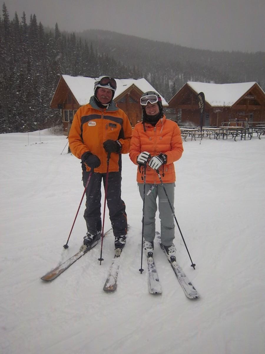 ski lesson keystone