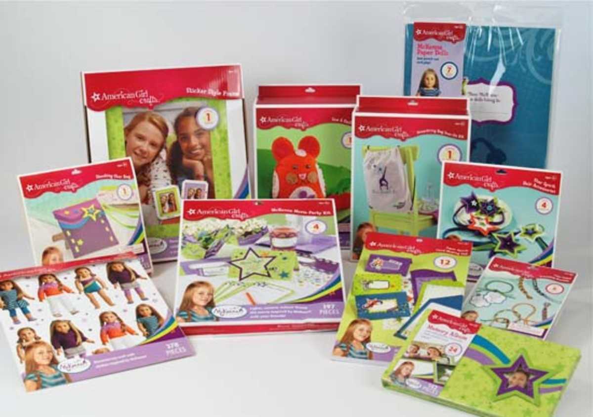 American Girl Crafts Bring Mckenna Home With Creativity Momtrends