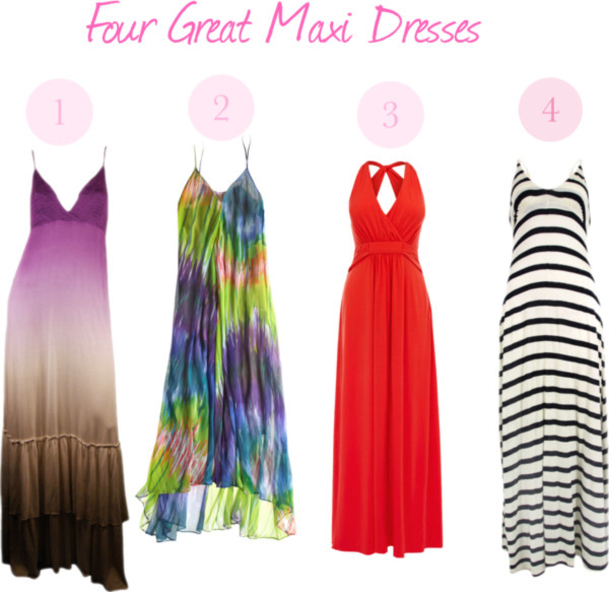 Four Great Maxi Dresses