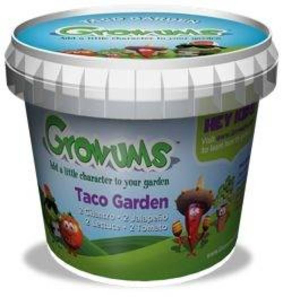 Growums Taco Garden Kit