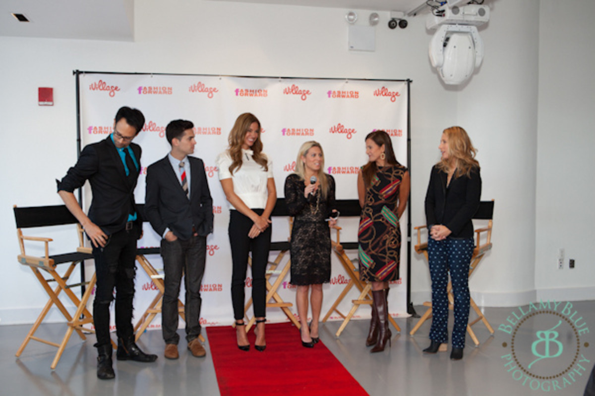 FF nicole lauren with Kelly Bensimon